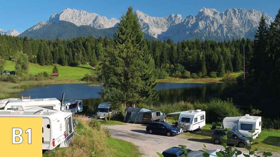 Alpen-Caravanpark-Tennsee-Terrassenplatz-B1