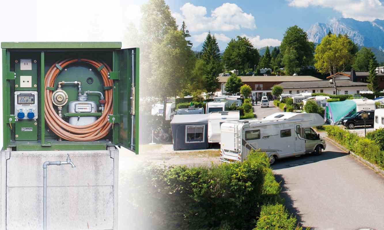 Campingplatz-Sauele
