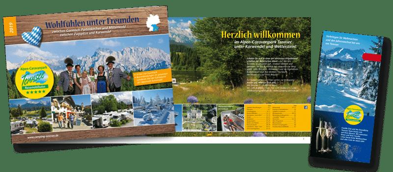 Broschuere Alpen-Caravanpark Tennsee