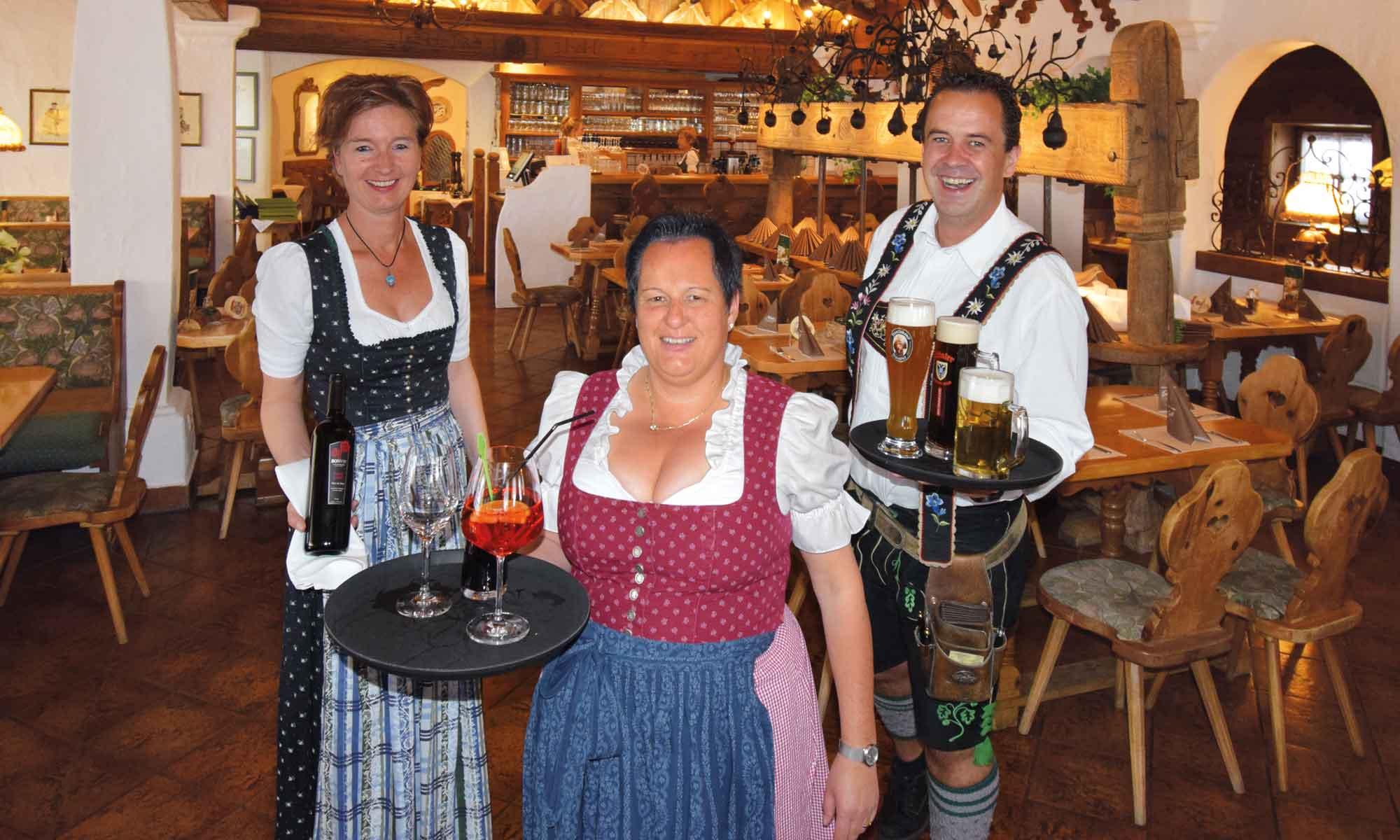 Beim Mini Restaurant in Kruen