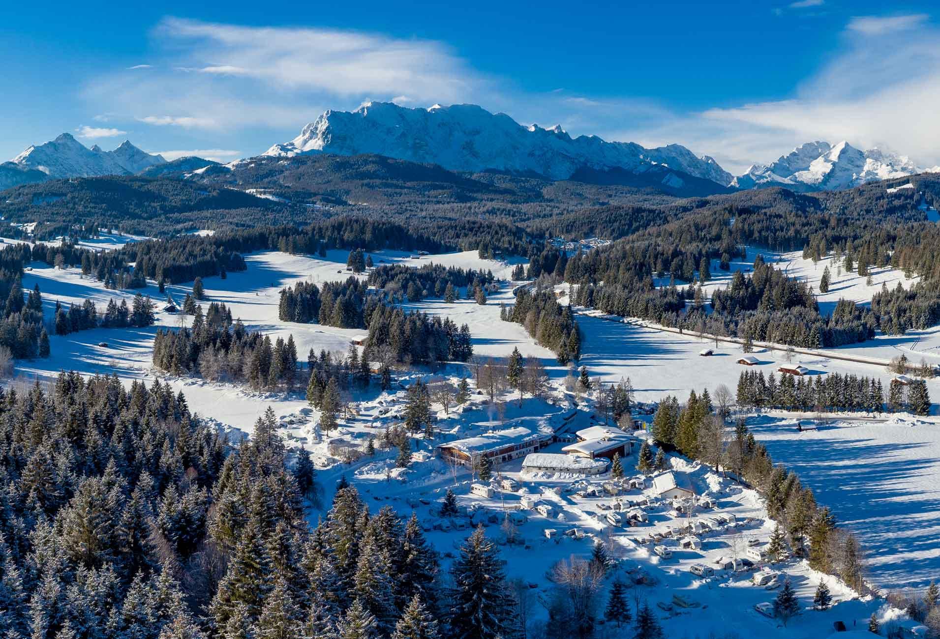 Campingplatz-Auszeichnung-winter