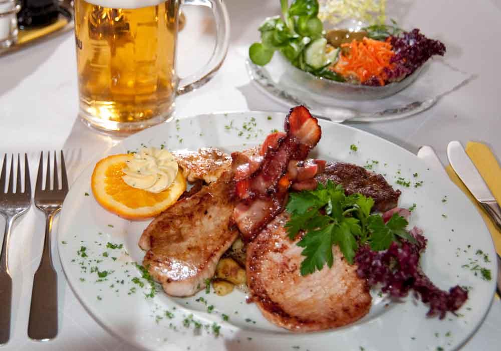 Restaurant Grillplatte