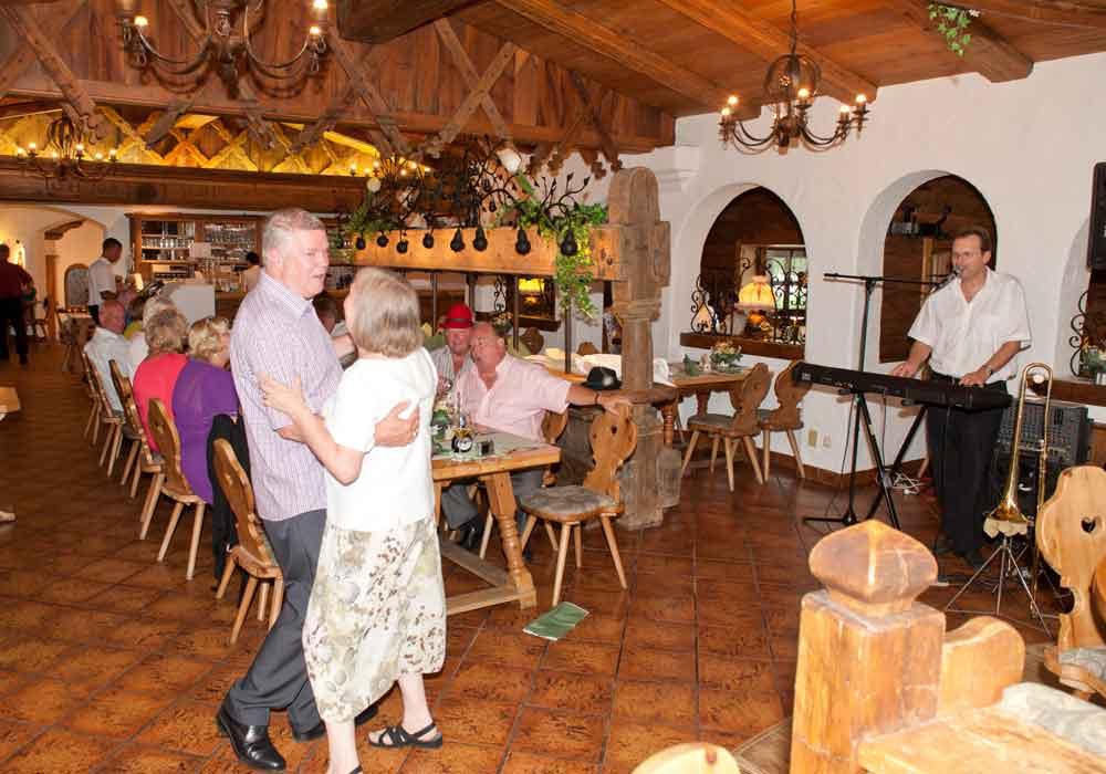 Restaurant Kruen Garmisch Musik