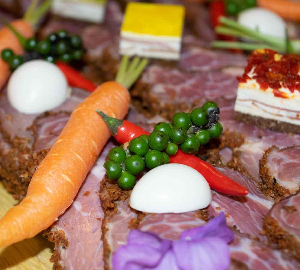 Silvesterbuffet Karotte