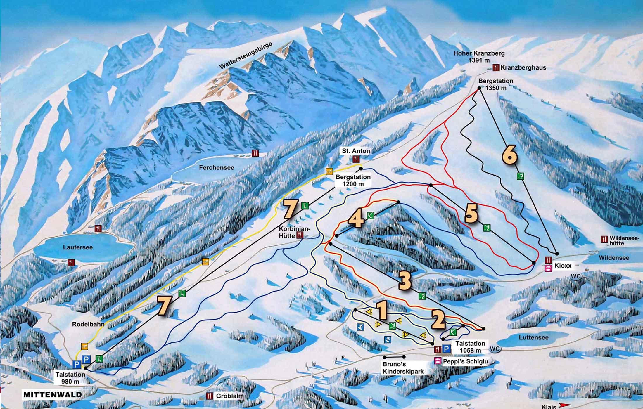 Skigebiete-Kranzberg